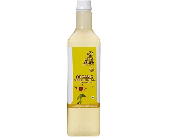 Pure & Sure Organic Sun Flower Oil