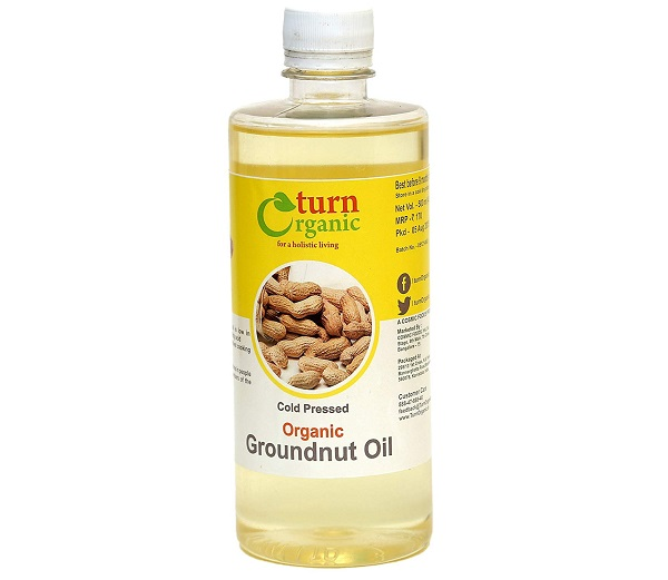 Turn Organic Groundnut Oil