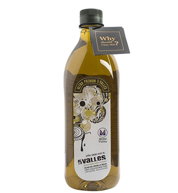 5 Valles Extra Virgin Olive Oil