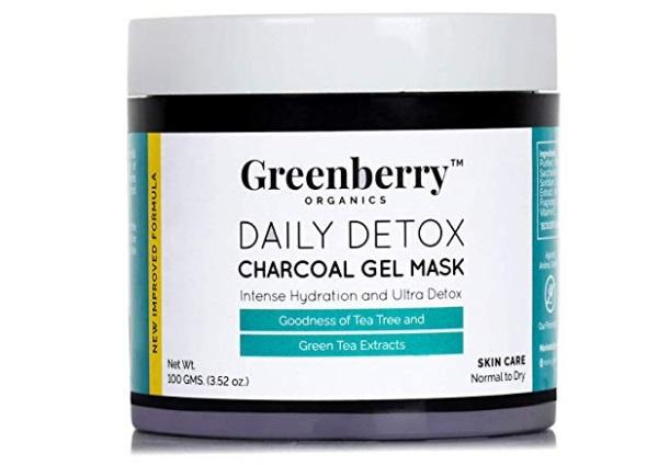 Greenberry Organics Daily Detox Charcoal Gel Face Mask