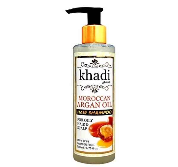 Khadi Global Moroccan Argan Oil Shampoo