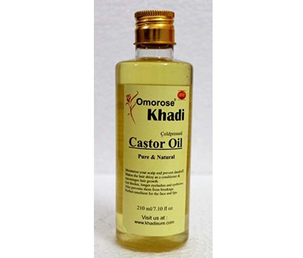 Khadi Omorose Cold Pressed Castor Carrier Oil