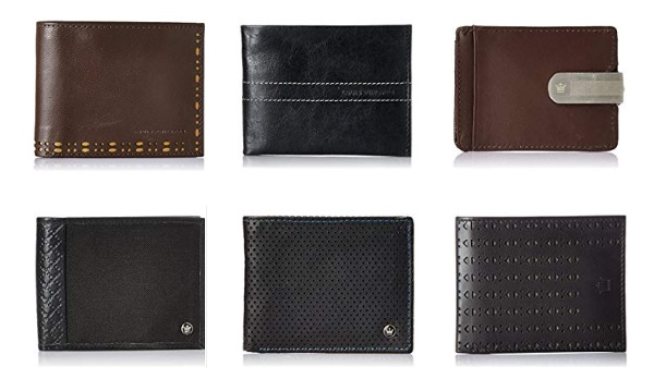 Louis Philippe wallets for men