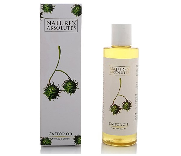 Nature's Absolutes Cold Pressed Castor Carrier Oil