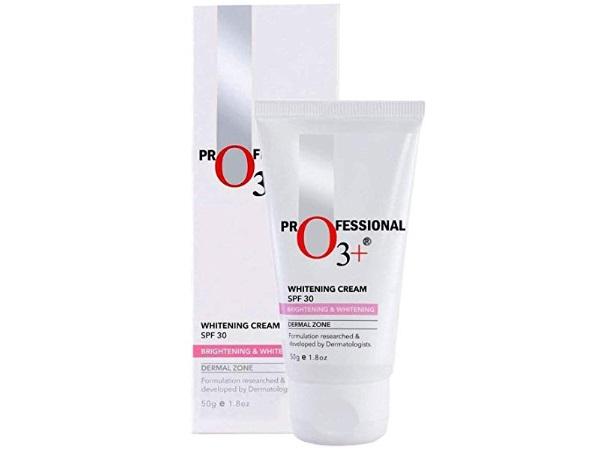 O3+ SPF 30 Whitening Cream for Skin Brightening & Whitening