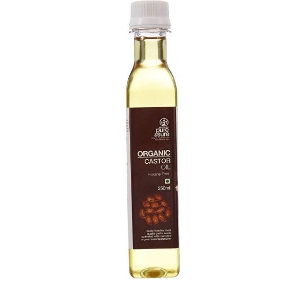 Pure & Sure Organic Castor Oil