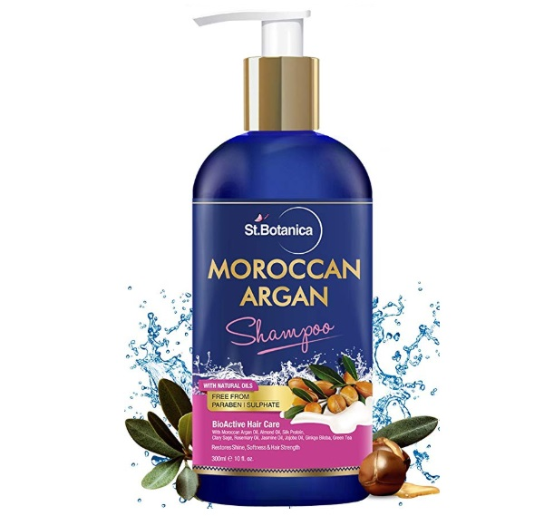 StBotanica Moroccan Argan Hair Shampoo
