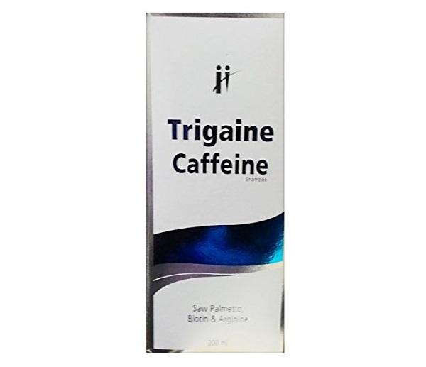 Trigaine Caffeine shampoo saw palmetto