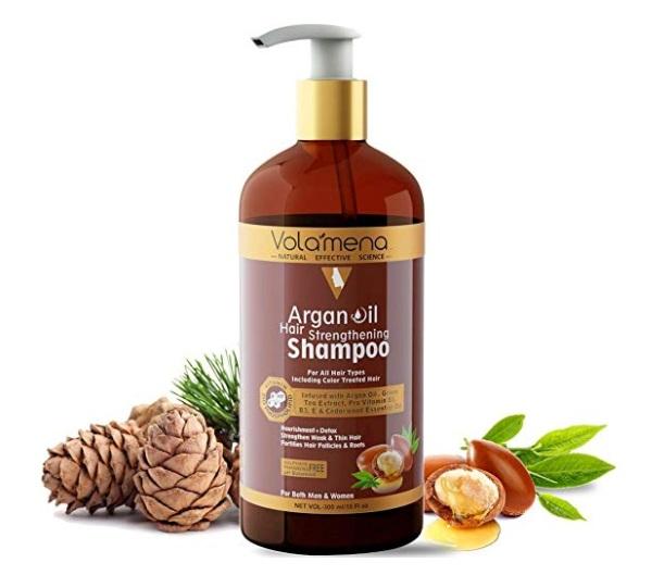 VOLAMENA Argan Oil Hair Strengthening Shampoo