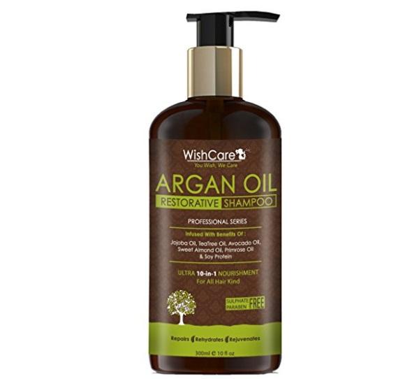 Wishcare Argan Oil Restorative Hair Shampoo