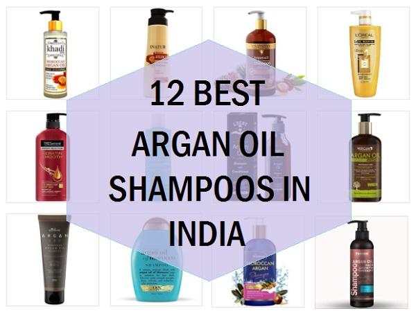 best argan oil shampoos in india