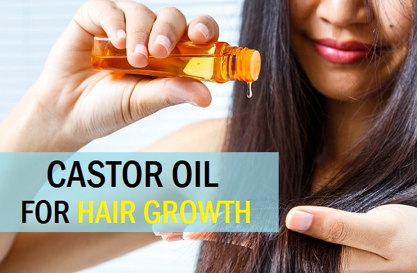 castor oil for hair growth and thick hair