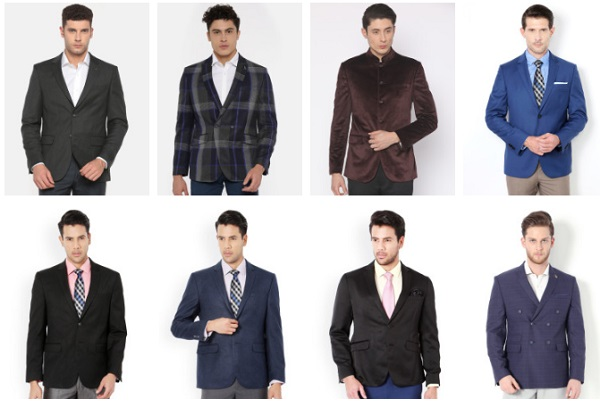 van heusen blazers for men
