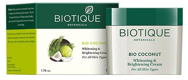 Biotique Bio Coconut Whitening & Brightening Cream (2)