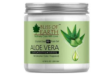 Bliss of Earth 99% Pure Crystal Clear Aloe Vera Gel
