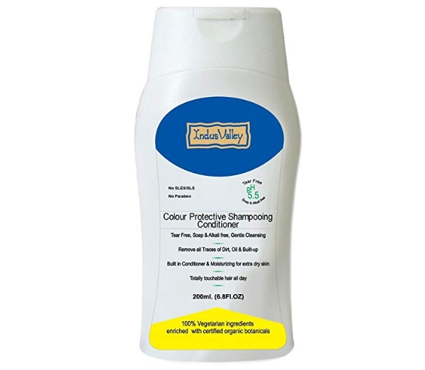 Indus Valley Colour Protective Shampoo With Conditioner