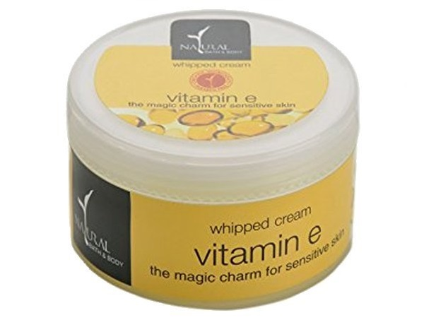 Natural Bath and Body Vitamin E Whipped Cream