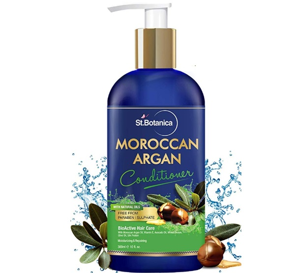 St Botanica Moroccan Argan Hair Conditioner with Argan & Olive Oil