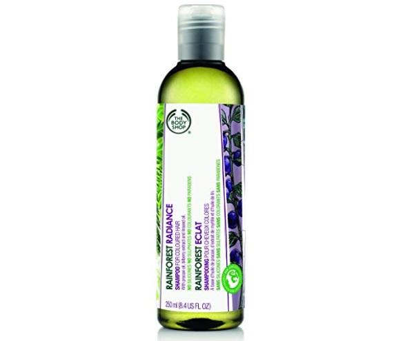 The Body Shop Rainforest Radiance Shampoo for Coloured Hair