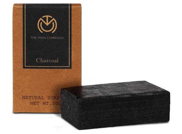 The Man Company Anti-Acne Face and Body Exfoliating Soap