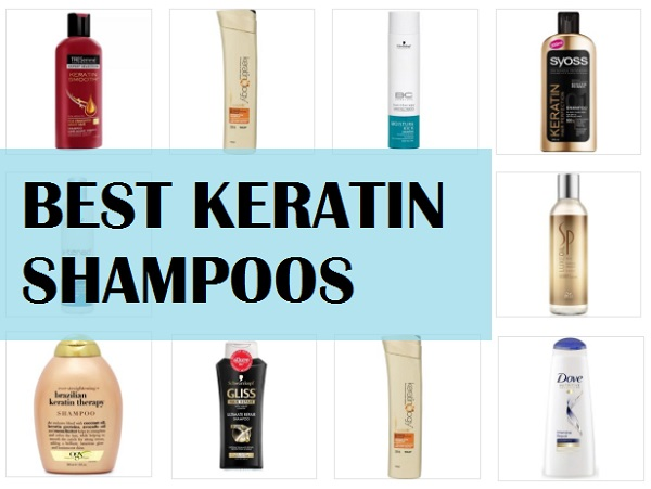 best keratin shampoos in india