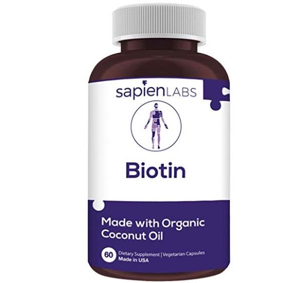 sapienlabs Biotin Coconut Oil