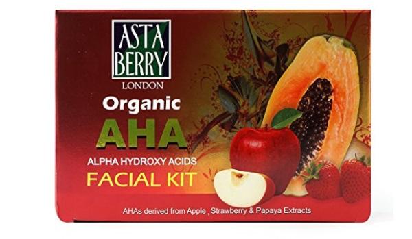 Astaberry Organic AHA Facial Kit