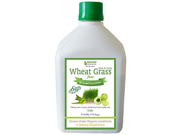 Bhumija Lifesciences Wheat Grass Juice with Aloevera & Amla