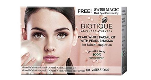 Biotique Bio Pearl White Facial Kit