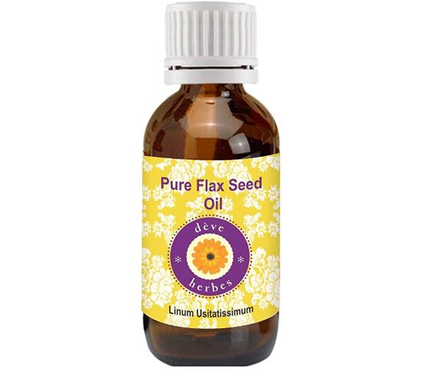 Deve Herbes Pure Flax Seed Oil