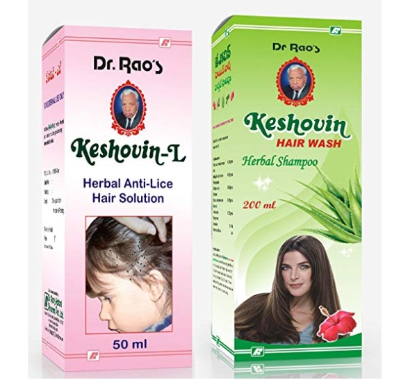 Dr.Rao's Combo Of Keshovin-L Anti-Lice Hair Tonic