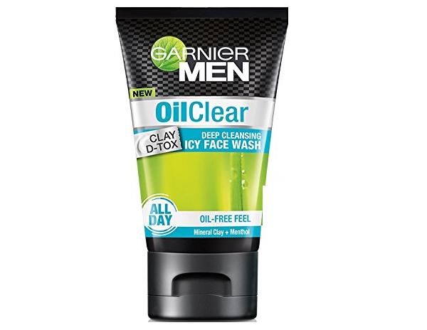 Garnier Men Oil Clear deep cleansing Face Wash