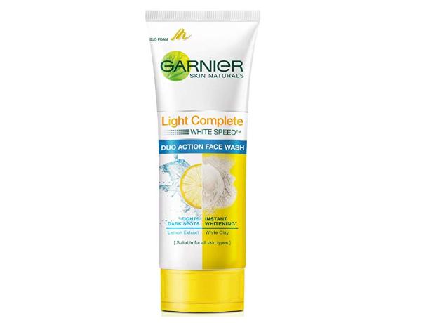 Garnier Skin Naturals, Light Complete Double Action Face Wash