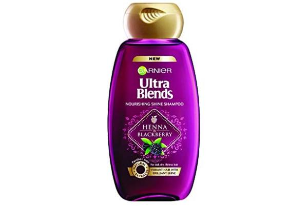 Garnier Ultra Blends Henna Blackberry Shampoo