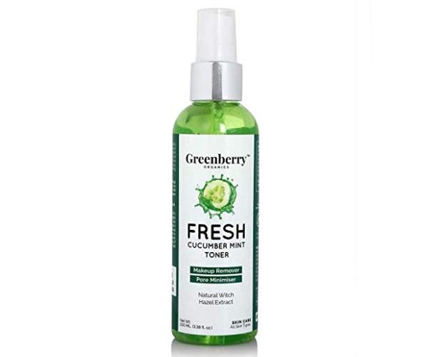 Greenberry Organics Fresh Cucumber Mint Toner