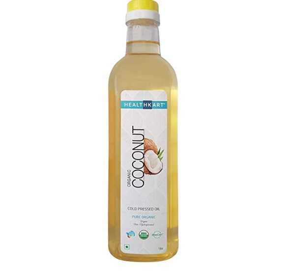HealthKart Cold Pressed Organic Regular Coconut Oil