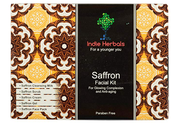 Indie Herbals Saffron Facial Kit