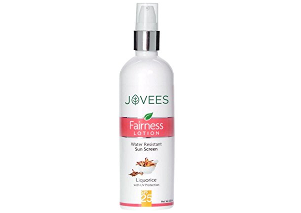 Jovees Water Resistant Sun Screen Fairness Lotion SPF 25