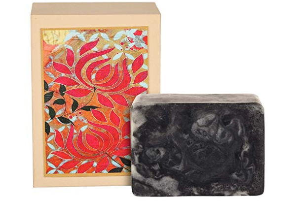 Just A Soap, Charcoal and Lime Soap with Goat Milk