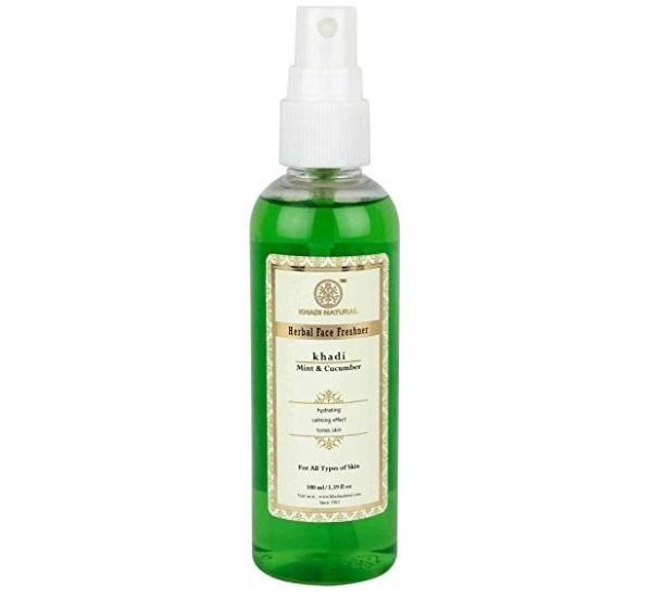 Khadi Natural Mint and Cucumber Face Spray