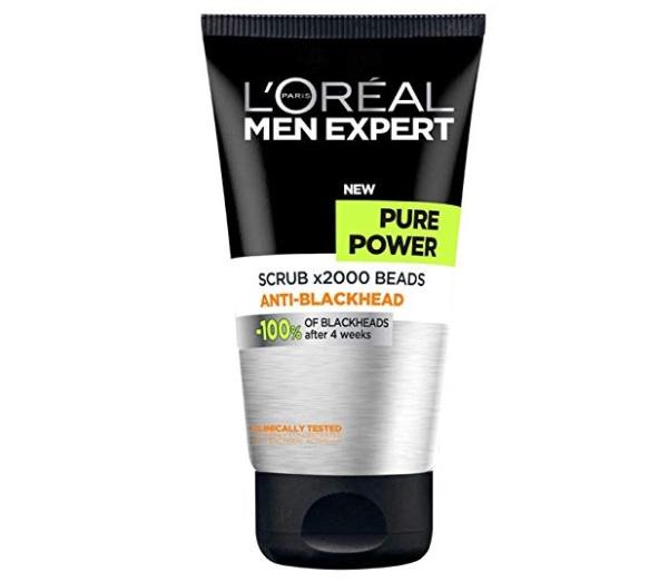 L'Oreal Paris Men Expert Pure Power Scrub