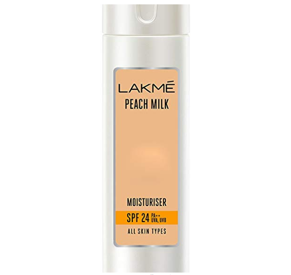 Lakme Peach Milk Moisturizer SPF 24 PA Sunscreen Lotion