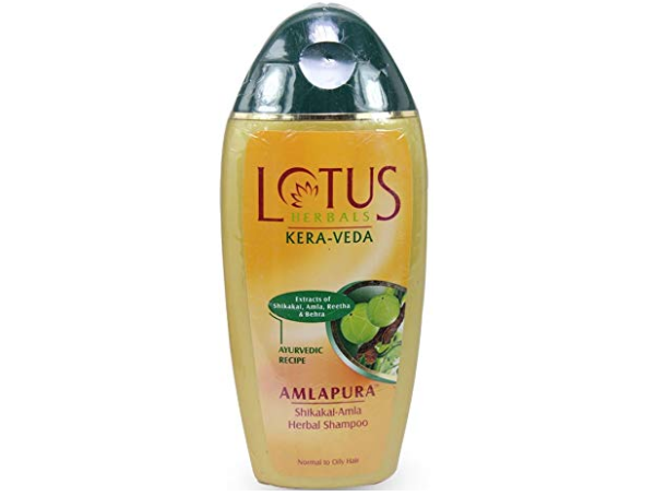 Lotus Herbal Amlapura Shikakai Amla Herbal Shampoo