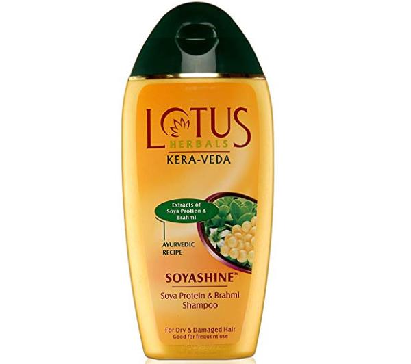 Lotus Herbals Kera-Veda Soyashine Soya Protein and Brahmi Shampoo