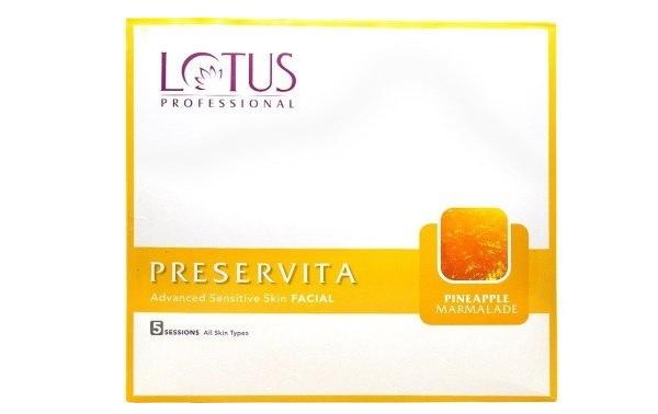Lotus Professional Preservita Advanced Sensitive Skin Facial Pineapple Marmalade