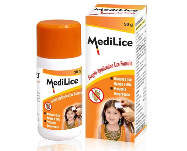 Medilice Anti Lice Cream Wash