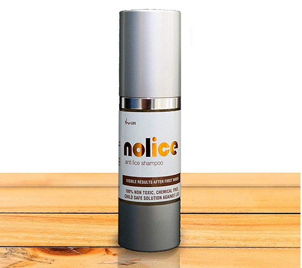 NoLice All Natural and Herbal Anti Lice Shampoo