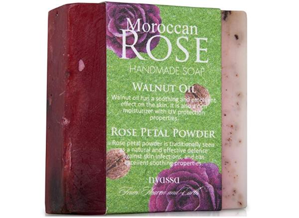 Nyassa Moroccan Rose Handmade Soap