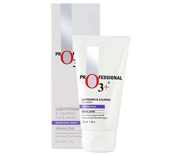 O3+ Lightening & Calming Face wash