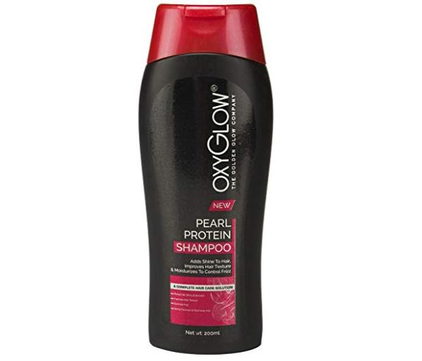Oxyglow Golden Glow Pearl Protein Shampoo